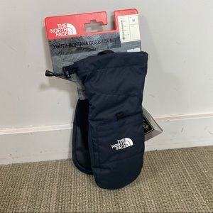NEW North Face Youth Goretex Mitts